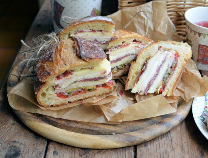 Classic New Orleans Muffuletta Sandwich Recipe — Dishmaps