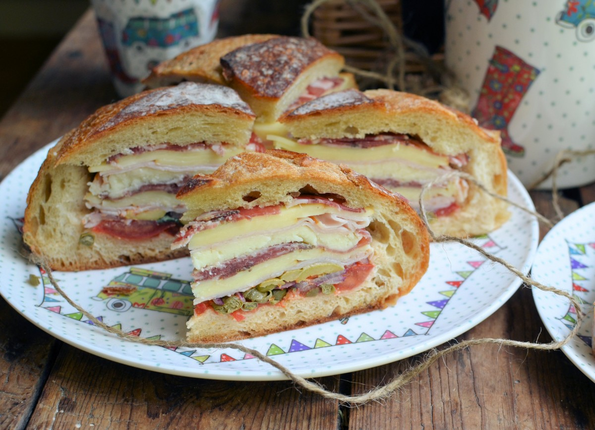 classic new orleans muffuletta sandwich recipes dishmaps classic new ...