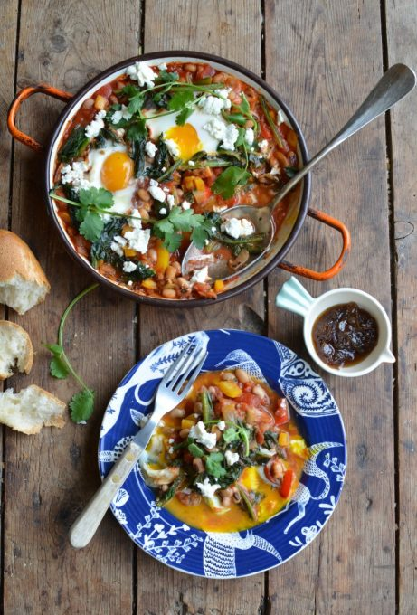 Mixed Bean Shakshuka for Meat Free Monday