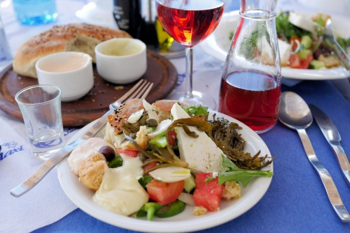 Fabulous Greek Food on the Island of Astypalea