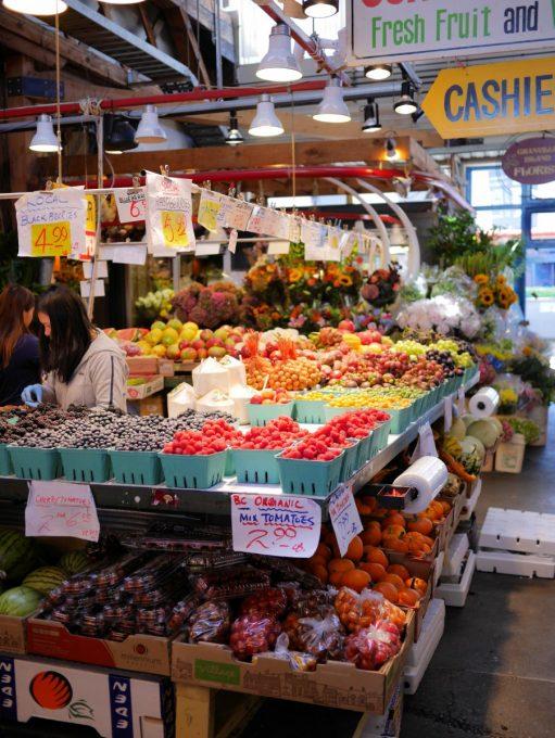 Granville Island Market, Vancouver