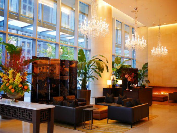 Shangri-La Hotel Lobby Vancouver