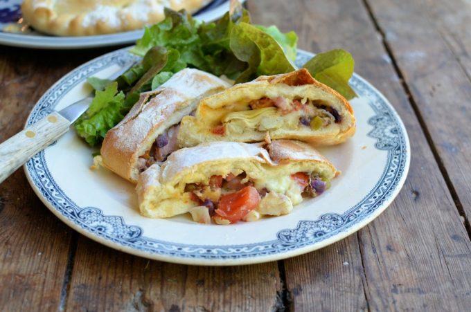Italian Calzone - Stuffed Pizza Pasties