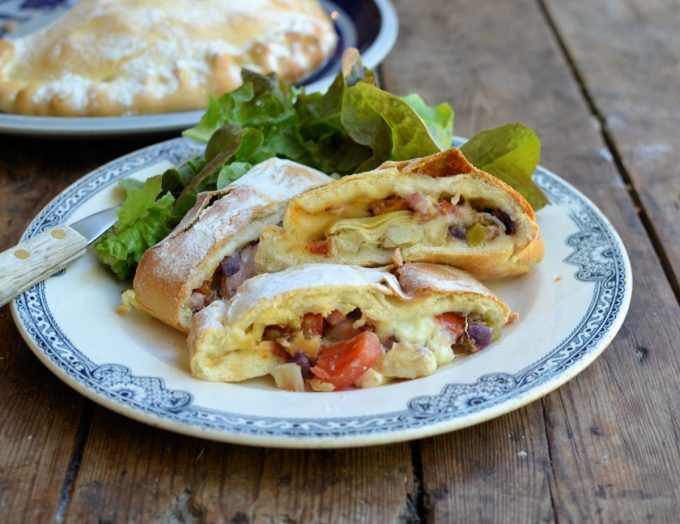 Italian Calzone - Stuffed Pizza Pasties