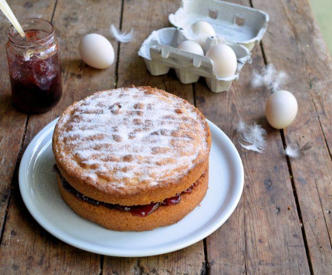 Duck Egg Sponge Cake Recipes