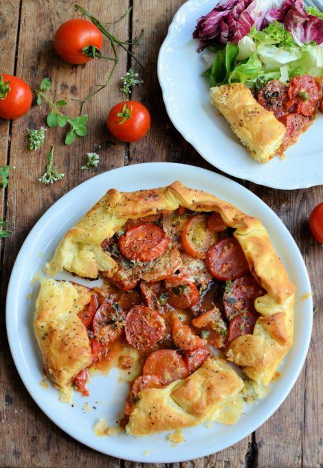 Fresh Tomato & Oregano Galette (12)