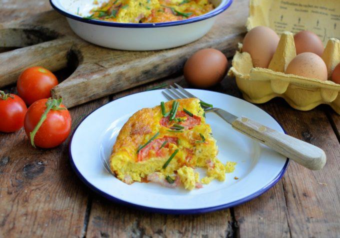 Gluten Free Crustless Quiche Lorraine