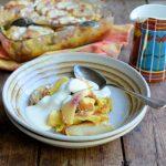 Overnight Fresh Peach & Vanilla French Toast