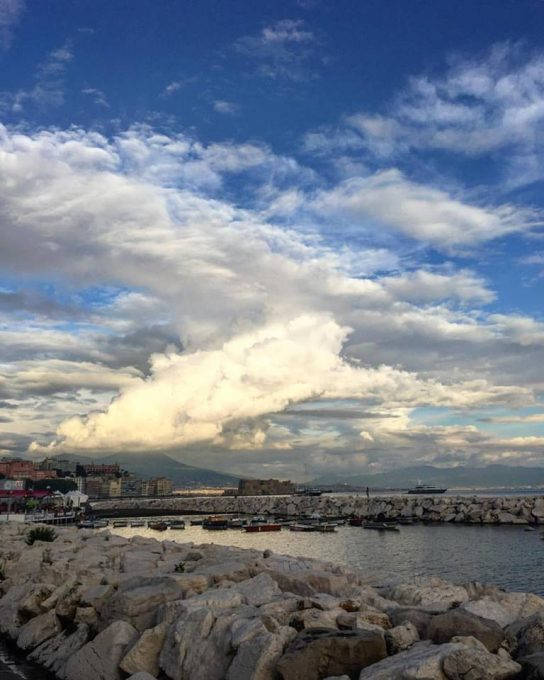 Naples and Mount Vesuvius