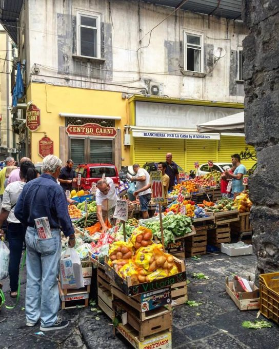 Street Market in Naples