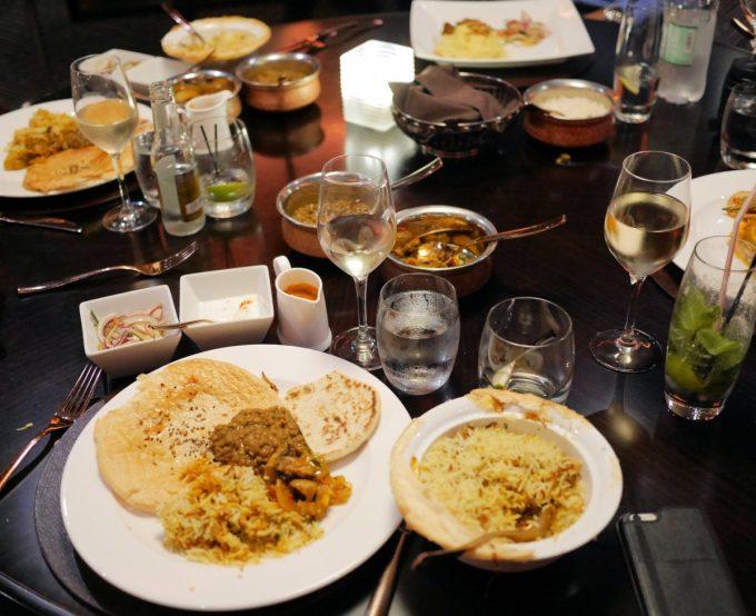 Dining in Sindhu