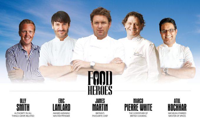 P & O Cruises Food Heroes