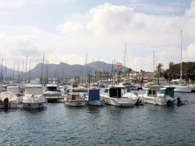 Cartagena Port in Spain