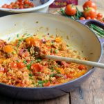 Spanish Chorizo and Sweet Pepper Rice