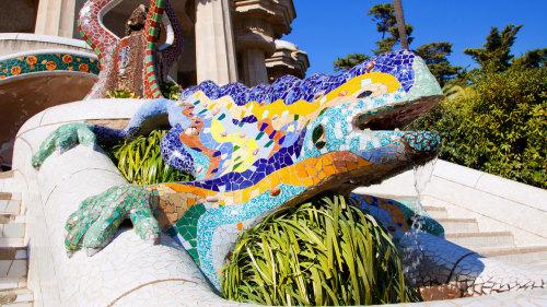 Gaudi Park, Lizard