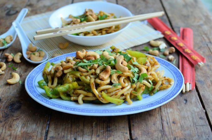 Sesame Cashew Noodle Salad