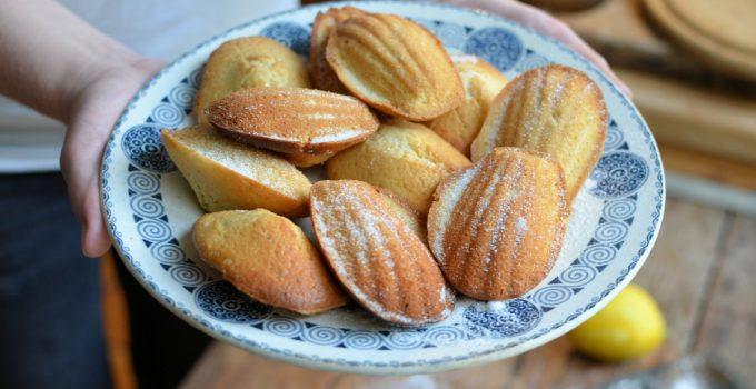 Cardamom, Honey and Lemon Madeleines