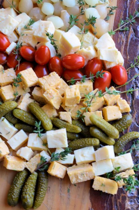 Cheese Christmas Tree Platter