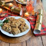 Spiced Christmas Fruit Flapjacks