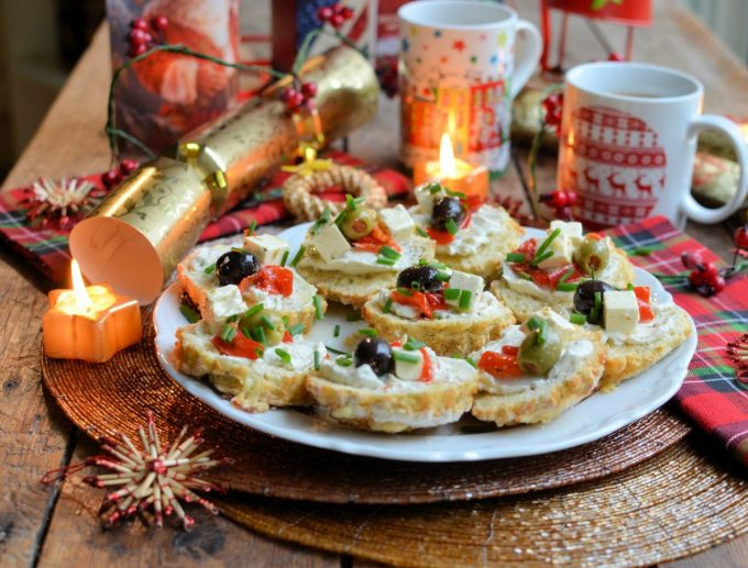 Cheese and Oat Scones (with assorted savoury toppings)