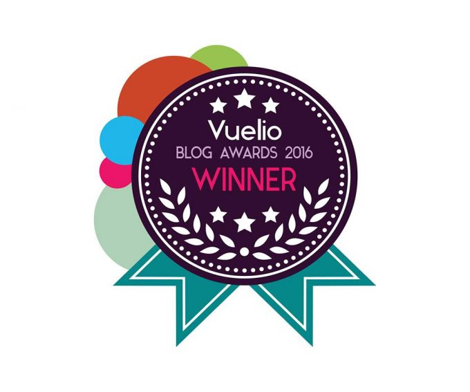 Best UK Food Blog Vuelio 2016