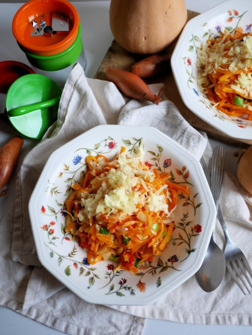 Pasta With Butternut Squash And Pecans Recipe — Dishmaps