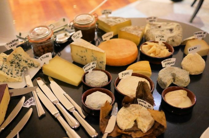 Cheese at Les Trois Forts