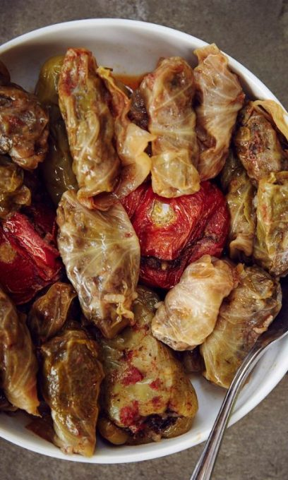 ARMENIAN STUFFED CABBAGE (DOLMAS)