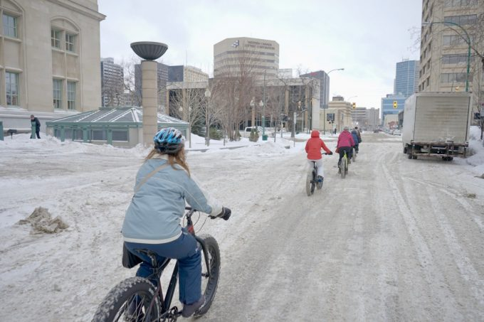 Downtown BIZ Winnipeg is pleased to be your host for lunch on its popular Moveable Feast dining tour. Hop on your fatbike, pedal your way from course to course through downtown Winnipeg and learn about the neighbourhood along the way. Stops include the revolving restaurant Prairie 360, Carbone coal-fired pizza and global street-food inspired Merchant Kitchen.