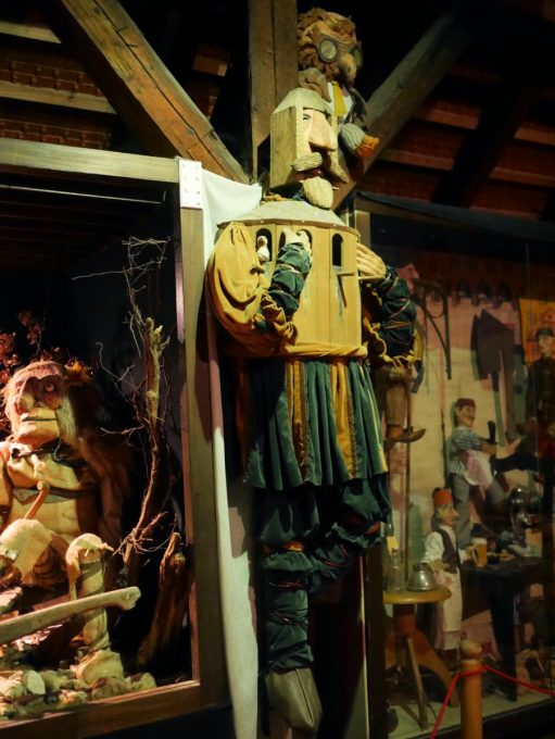 Puppets in the Puppet Museum at Český Krumlov