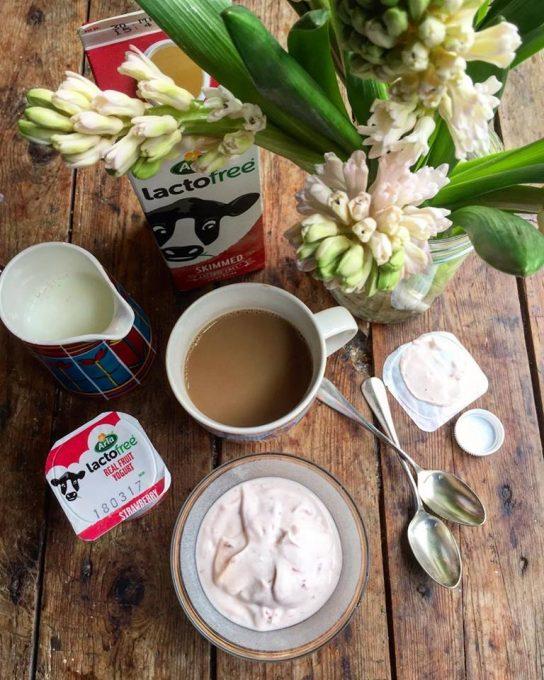 Lactofree strawberry yogurt