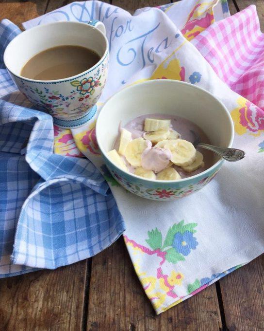 LactoFree Yogurt and Banana
