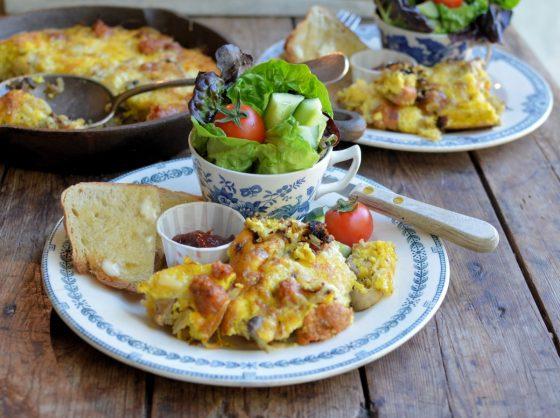 """American Diner"" Breakfast Skillet"