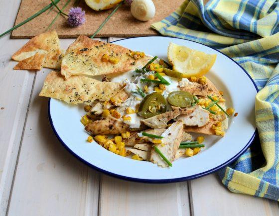 Chicken and Corn Nachos