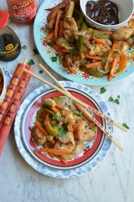 Hoisin Chicken and Pepper Stir-Fry