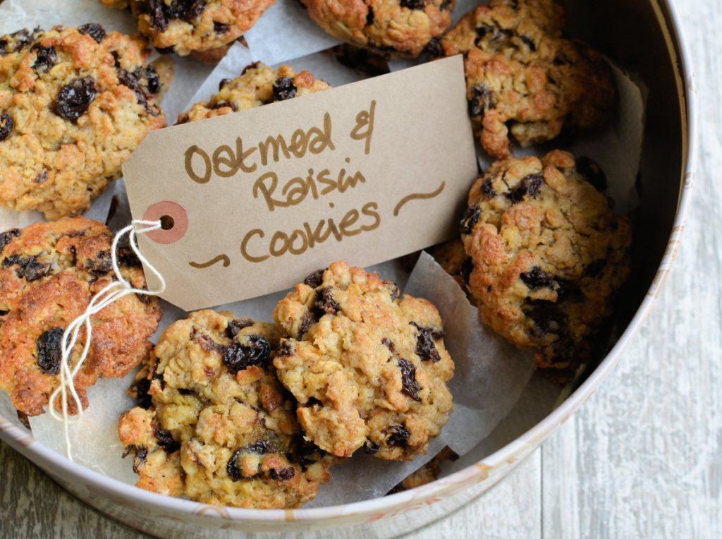 Grandma S Old Fashioned Oatmeal Raisin Cookies