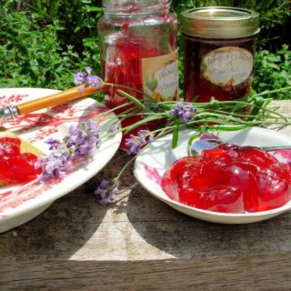 Summer Berries again………Mixed Currant  and Lavender Jelly