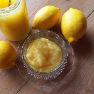 My Mum's Home-Made Lemon Curd