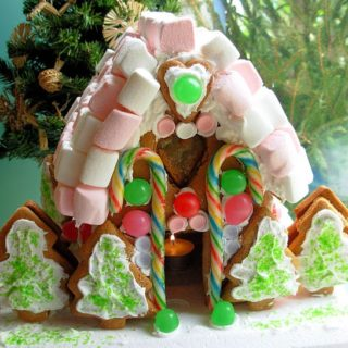 Advent, Candles, Baking Mad and an Enchanted Gingerbread House