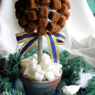 What to do with a Cuddle of Chocolate Truffles! Day Fourteen on the Advent Calendar and a Chocolate Truffle Tree