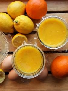St Clement's Curd – Orange & Lemon Curd