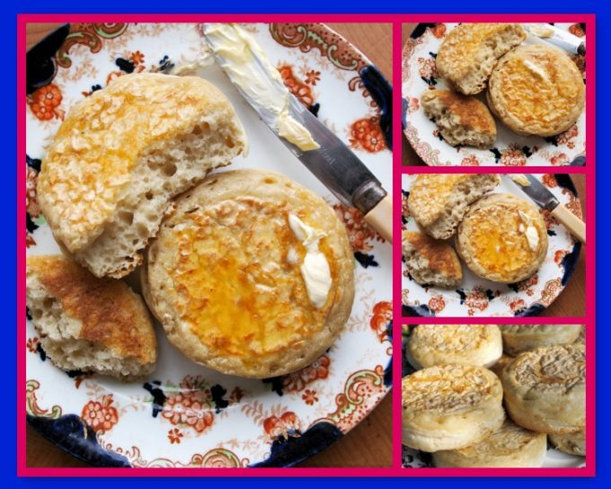 Home-made Crumpets