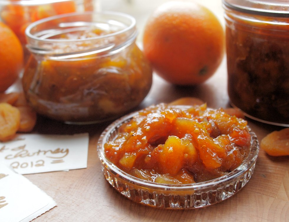 Preserves from the Pantry! Apricot & Orange Chutney from First Preserves by Vivien Lloyd