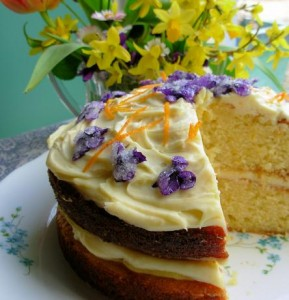 Victorian Spring Posy Cake