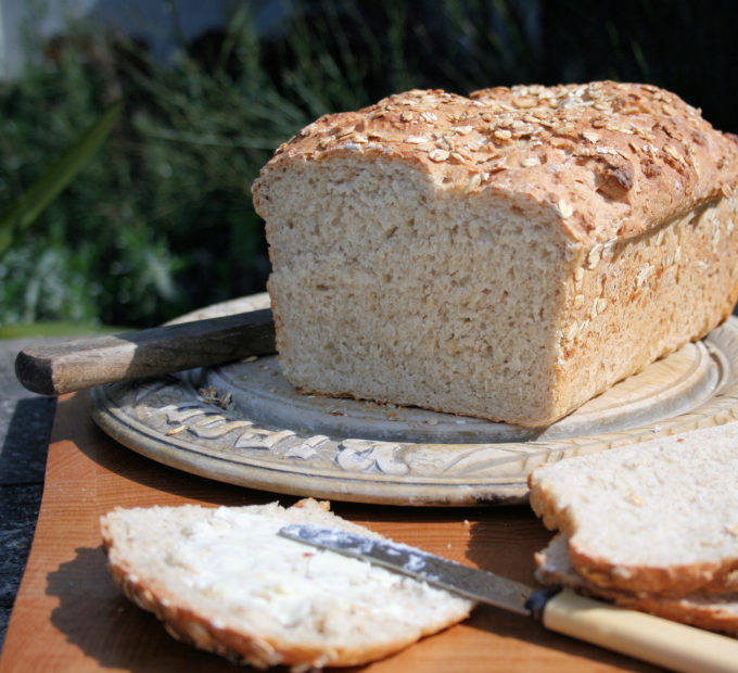 Farmhouse Oatmeal Bread
