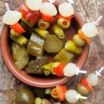Banderillas Picantes – Pickles on Skewers for Tapas and Random Recipes