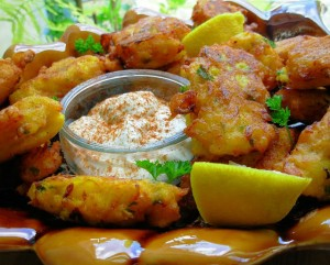 Bacalao Fritters – Salt Cod Fritters with Saffron & Pimenton