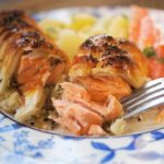 Hot Smoked Salmon Wellington