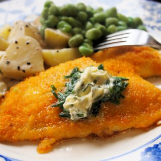 Hasty Tasty Baked Plaice with Chive Butter (Gluten Free) for Fish on Friday