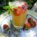 I'm Dreaming of a Sunny May! Wolds Way Lavender and Strawberry Fruit Cup
